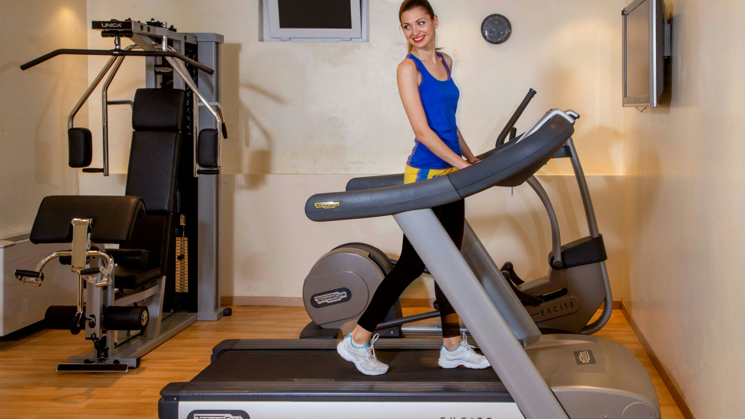 Fitnessraum zu hause  Hotel Panama Garden | Rom | Fitnessraum